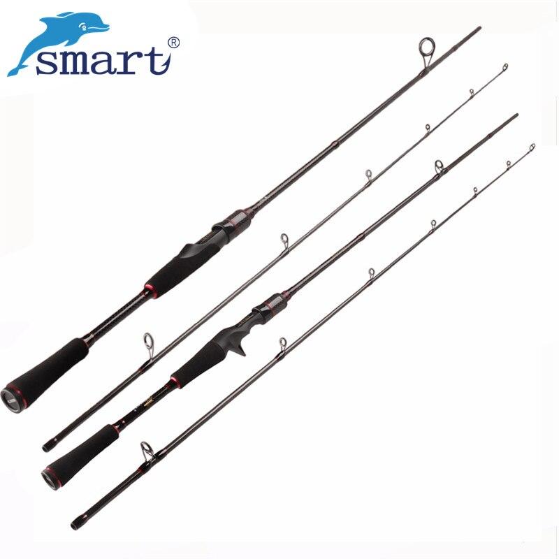 Smart 1.8m 2Secs Spinning/Casting Fishing Rod M Power Carbon Rods Vara De Pesca Carp Peche Fishing Tackle Fishing Pole