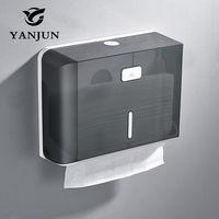 Yanjun Wall Mounted Paper Towel Dispenser WC Paper Towel Holder Tissue Dispenser Bathroom Accessories YJ 8620