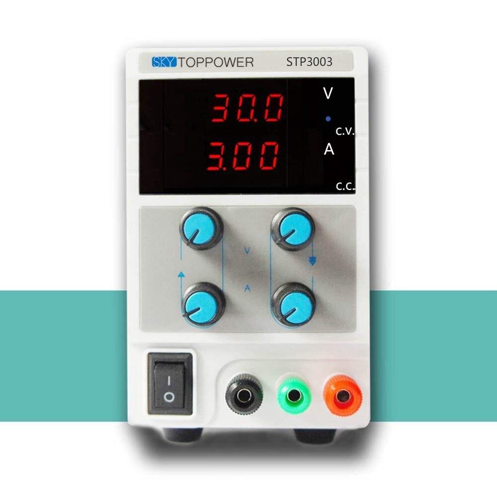 0 30V 0 3A Mini Digital Disciplinary Power Supply Lab Adjustable DC Current Voltage Output EU