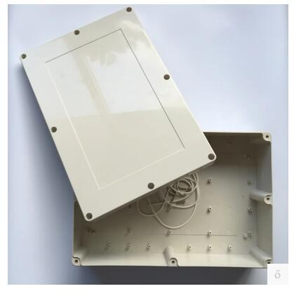 ABS plastic waterproof box 380*260*100mm display control box plastic instrument case practical accessories 4pcs a lot diy plastic enclosure for electronic handheld led junction box abs housing control box waterproof case 238 134 50mm
