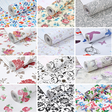 Rainqueen 10M Vinyl Self Adhesive Wallpaper Roll For Kitchen Furniture PVC Stickers Wardrobe Door Wall Sticker DIY Home Decor
