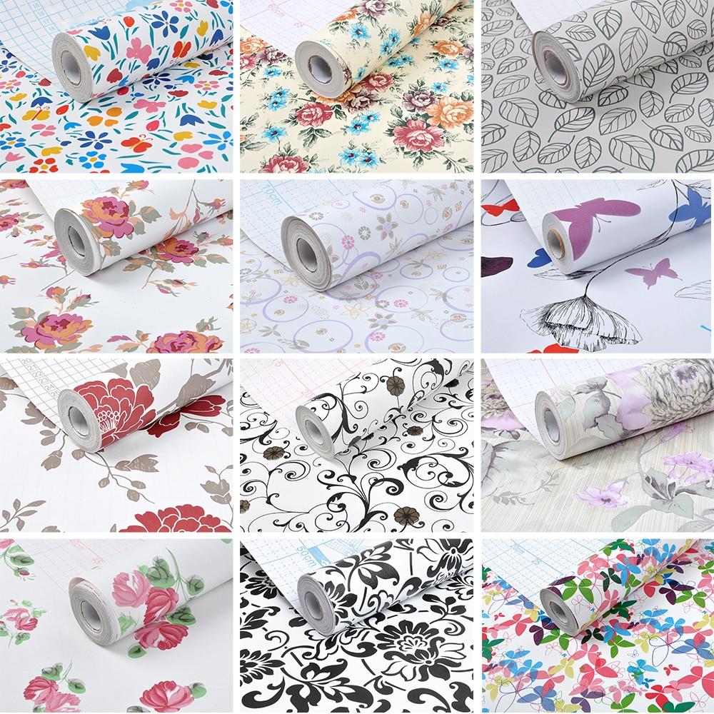 Rainqueen 10m Vinyle Auto Adhesif Papier Peint Rouleau Pour