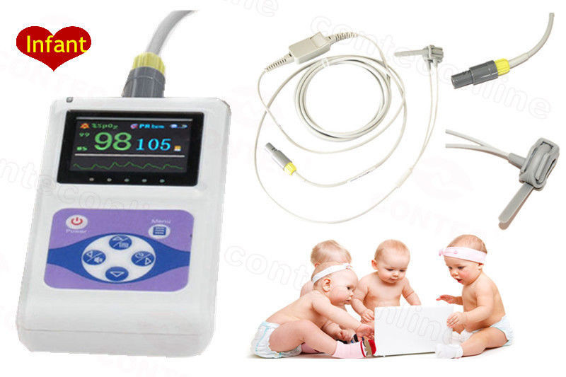 Pulse Oximeter for Infant Pulse Oximeter CMS60D CE FDA approved Handheld Portable Pulse Oximeter Neonatal