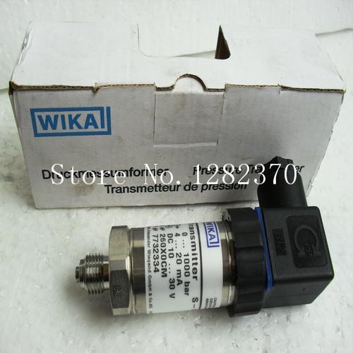 wika s 10 price - [SA] New original authentic special sales WIKA pressure sensor switch S-10 0-1000 bar spot