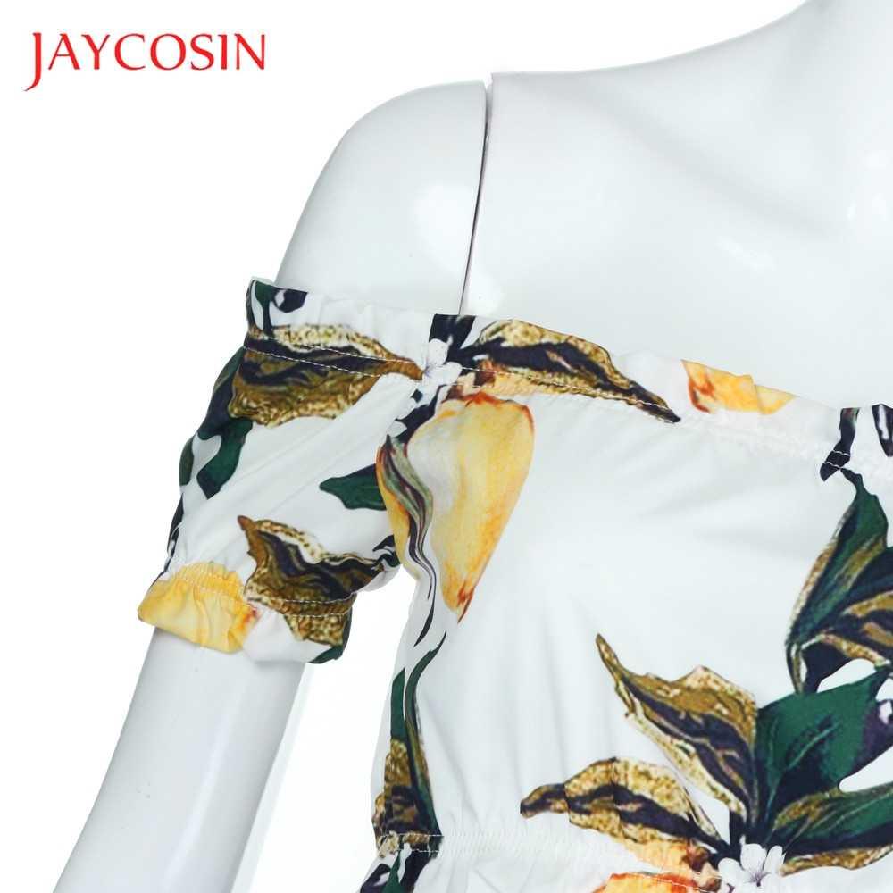 JAYCOSIN Nữ Tay Ngắn Áo Thun Nữ Thời Trang Chanh In Áo Giống Như Là Tình Yêu Mới Chất Liệu Cao Cấp Hàng ngày