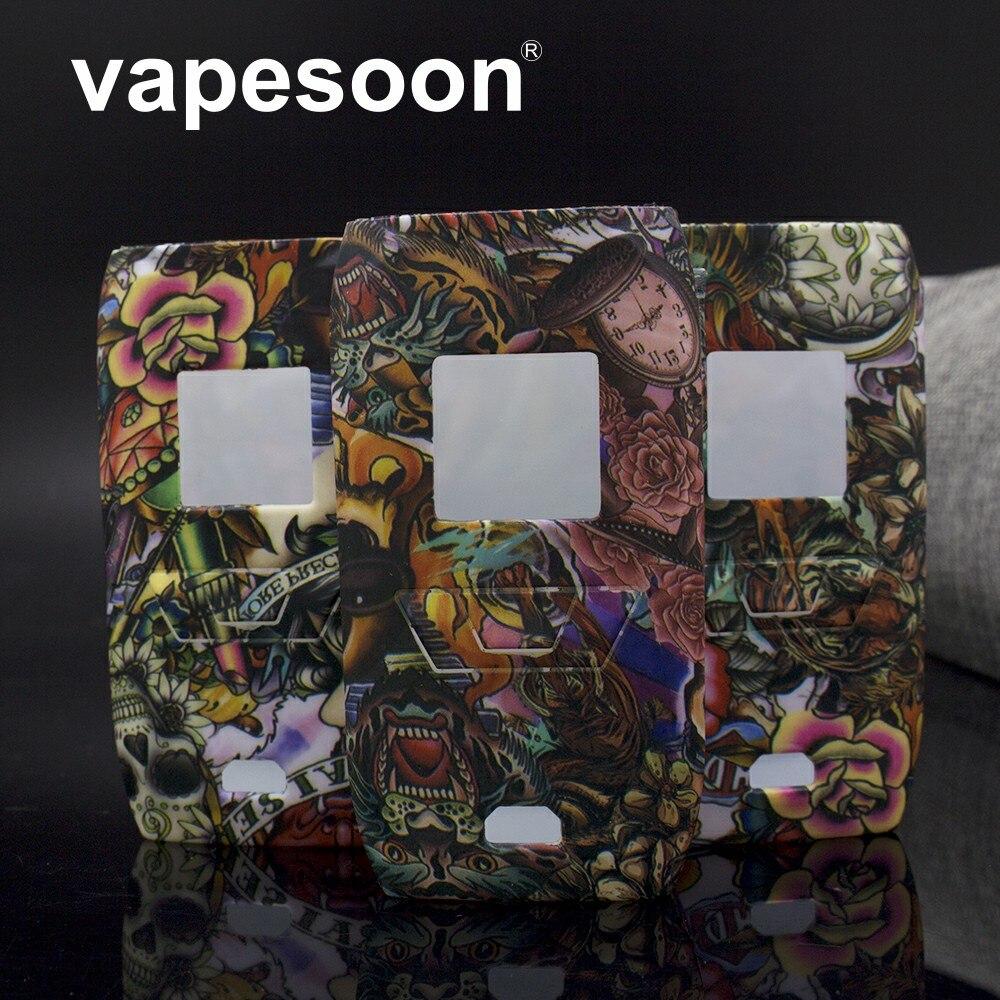 VapeSoon New Design Protective Silicone Case For Vaporesso Revenger Kit Revenger 220 Mod Hell Series Style Silicone Case