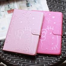 Lindo soporte tablet case cubierta elegante magnética para apple ipad mini 1 mini 2 mini 3 case protector de la cubierta de la muchacha embroma el regalo
