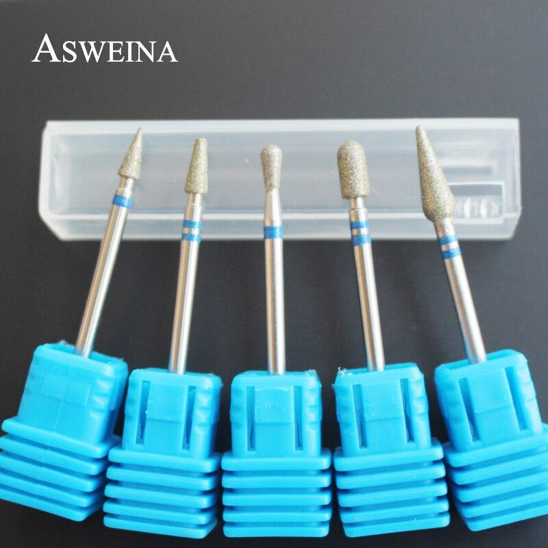 Aliexpress.com : Buy ASWEINA 5 Type Diamond Electric Nail