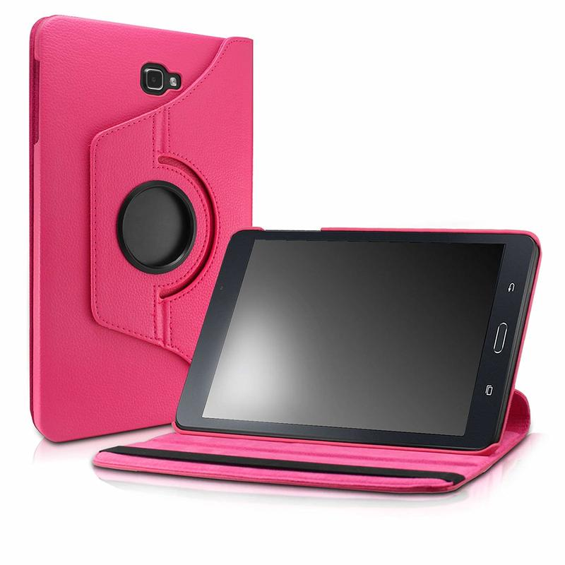 For Samsung Galaxy Tab A 10.1 Case 360 Rotating Stand Cover for Samsung Galaxy Tab A 10.1inch 2016 SM-T580 <font><b>T585</b></font> T587 Tablet Case image