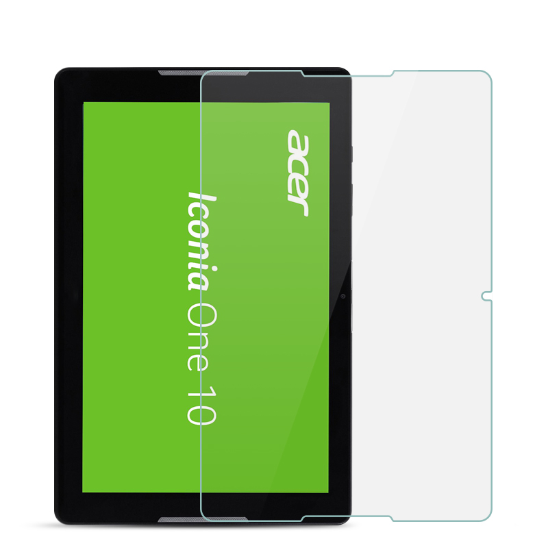 Tempered Glass For Acer Iconia One 10 B3 A30 B3-A30 A3-A40 A3 A40 10.1 Inch 9H Ultra Thin Tablet Protective Toughened Glass Film