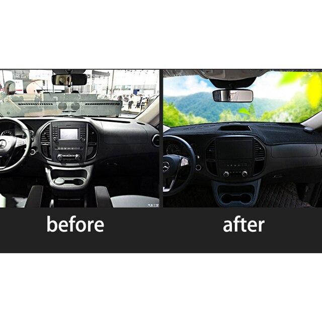 Lsrtw2017 Car Dashboard Mat For Mercedes Benz Vito 2014 2015 2016