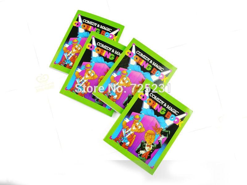 1pcs Funny Comedy Magic Coloring Book Small Size Ellusionist Gadgets Props Illusion Kids Magicmagic Tricksgimmick In Tricks From Toys
