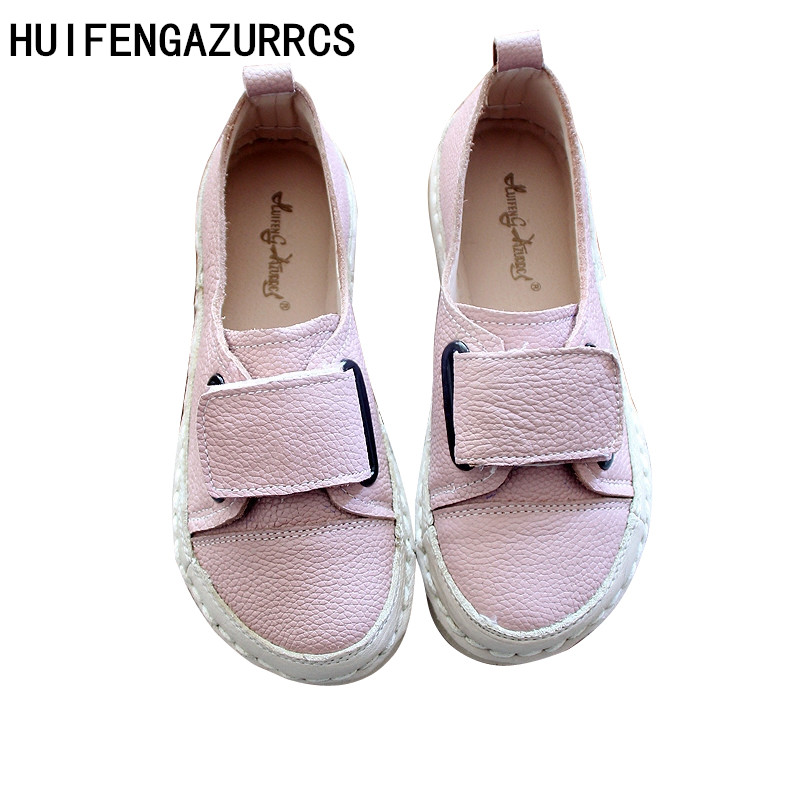 HUIFENGAZURRCS-pure handmade shoes,the retro art mori girl Flats shoes, Genuine leather shoes ultra soft bottom retro doll shoe huifengazurrcs 2018 new spring mori girl soft bottom leisure shoes genuine leather handmade shoes japanese retro shoes 4 colors
