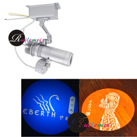 Wedding Gobo Projector DIY Packages Integrated Gobo Rotator With Two Colors Custom Glass Gobo