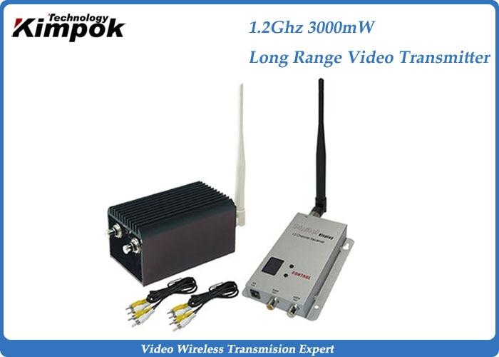 30 km LOS-Drohnen-Videosender und -Empfänger mit 3 W, 8 Kanälen, - Heim-Audio und Video