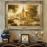Landscape Oil Painting Country Scene Paintings Hand Painted Art Canvas Painting For Living Room Home Decoration