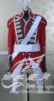 2016 британской королевской гвардии Косплэй костюм из фильма Пираты Карибского моря