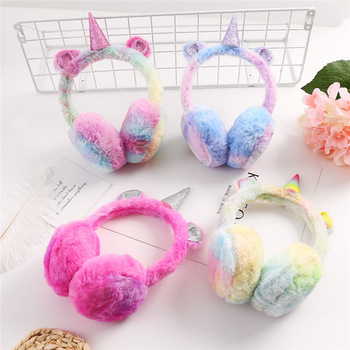 Fashion Winter Lovely Unicorn Earmuffs