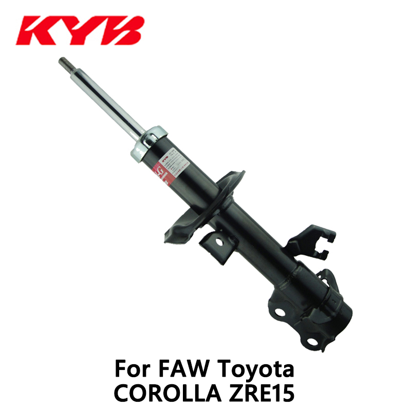 KYB front left car shock absorber 339067 EXCEL-G inflatable for FAW Toyota COROLLA ZRE15 # auto part monroe left car shock absorber g8010 for opel vectra c original series auto part pack of 1