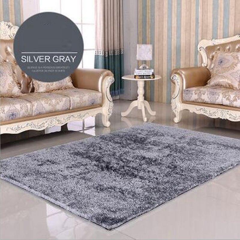 Neueste 140 Cm X 200 Korea Seide Helle Teppich Dekoration Moderne Saugfhigen Rutschfesten Wohnzimmer Hause V