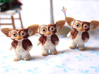 New 1pieces Lot Brown Gremlins Gizmo Pvc Doll 3cm Toy Furnishing Articles Children S Gift