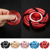 Spinners Toy Finger Tri Fidget Hand Spinner Luminous Metal Finger Focus Toy ADHD Autism Kids Adult