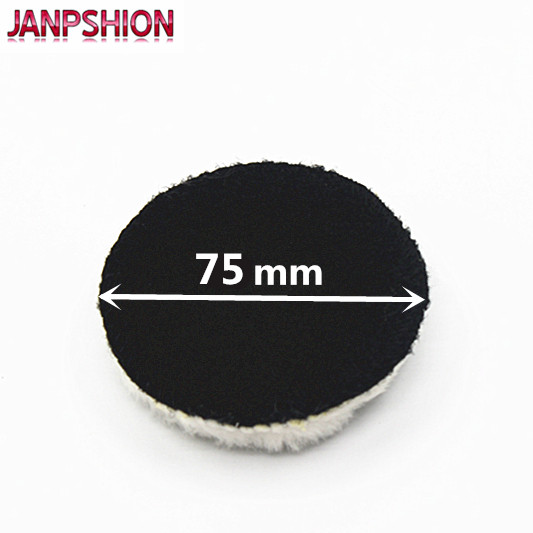JANPSHION 20pc 75mm tampone per lucidatura auto 3