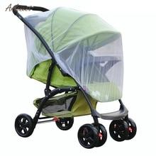 Бренд для новорожденных малышей, для детских ходунков, сетчатая коляска, москитная сетка для насекомых, безопасная сетка, багги, белый