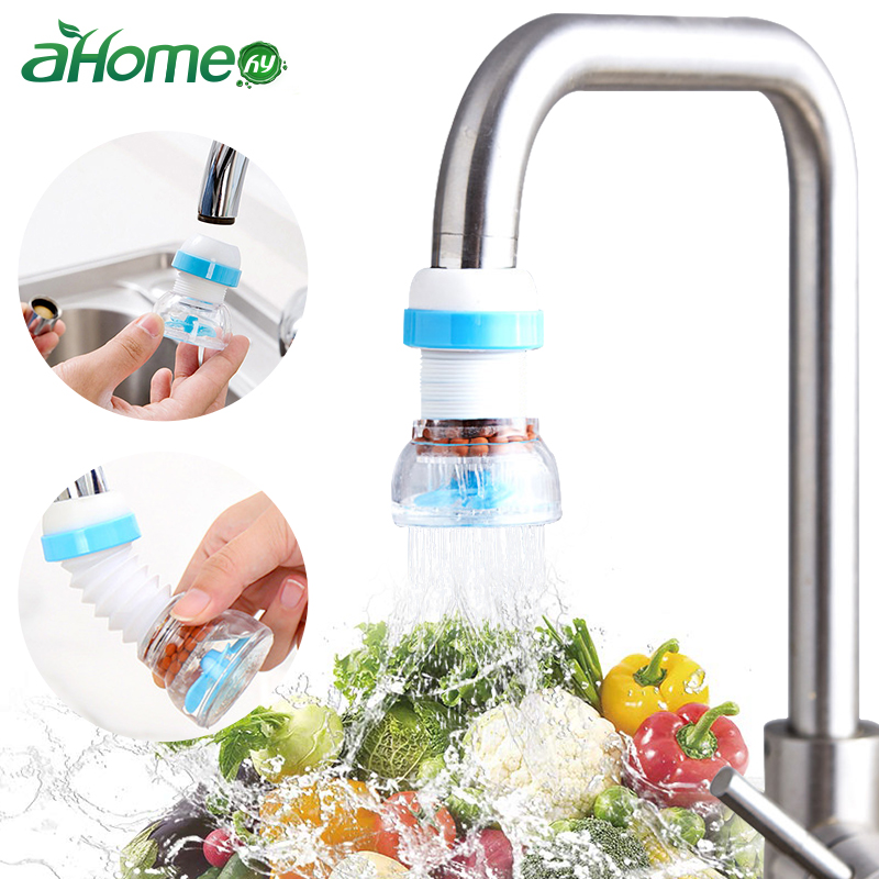 Sink Faucet Extender Water Saver with  Water Filter Anti-splash Flexible water tap Kitchen Gadgets Bathroom Accessories