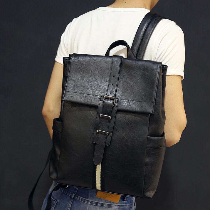 Compare Prices on Leather Laptop Backpack for Men- Online Shopping ...