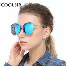 COOLSIR 2017 Round Alloy Sunglasses Men Women Fashion Polarized Sun glasses Brand Designer Retro Vintage Sunglasses Oculos 6009