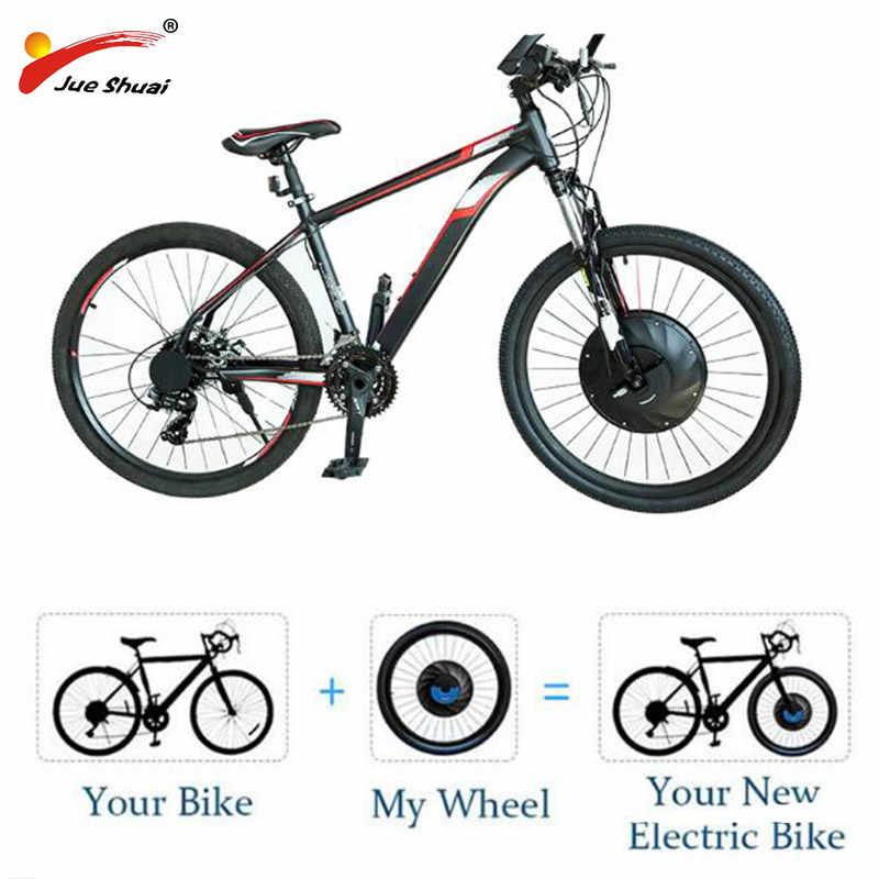 """Kit de Covnersion Ebike roue avant Imortor 36V 20 """"24"""" 26 """"27.5"""" 700C 29 """"roue de vélo électrique E Kit de vélo avec batterie"""