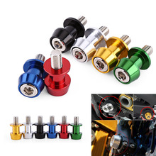 Motorcycle CNC Aluminium Alloy Swing Arm Spool Sliders Stand Swingarm Bobbins for Honda Ducati BMW S1000RR 09-14 Kawasaki Z800