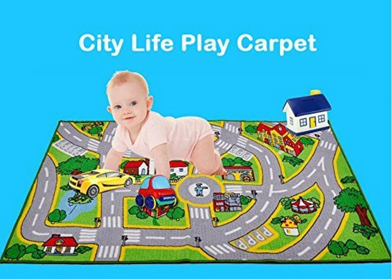 Large Size 51*75 Kids Rug With Roads Kids Rug Play Mat Children Learning Carpet Play Crawling Carpet City Street Map Kids RugLarge Size 51*75 Kids Rug With Roads Kids Rug Play Mat Children Learning Carpet Play Crawling Carpet City Street Map Kids Rug