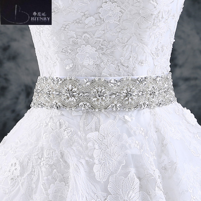 2017 Wedding Accessories Handmade Wedding Belts Amazing Crystal Rhinestone Shinny Bridal Belt Wedding Sashes (270x5cm)