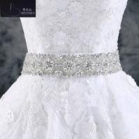 2017 Wedding Accessories Handmade Wedding Belts Amazing Crystal Rhinestone Shinny Bridal Belt Wedding Sashes (270x5cm)