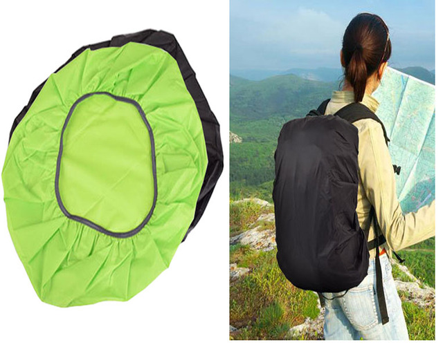 Wholesale 200pcs/lot Waterproof Camping Traveling Backpack Rucksack Dust Rain Cover for 30L-40L bag