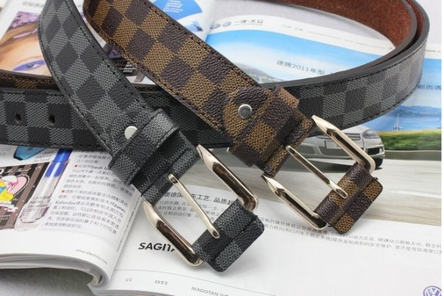 Designer  leather belts  Men Accessories Studded brand metal belts