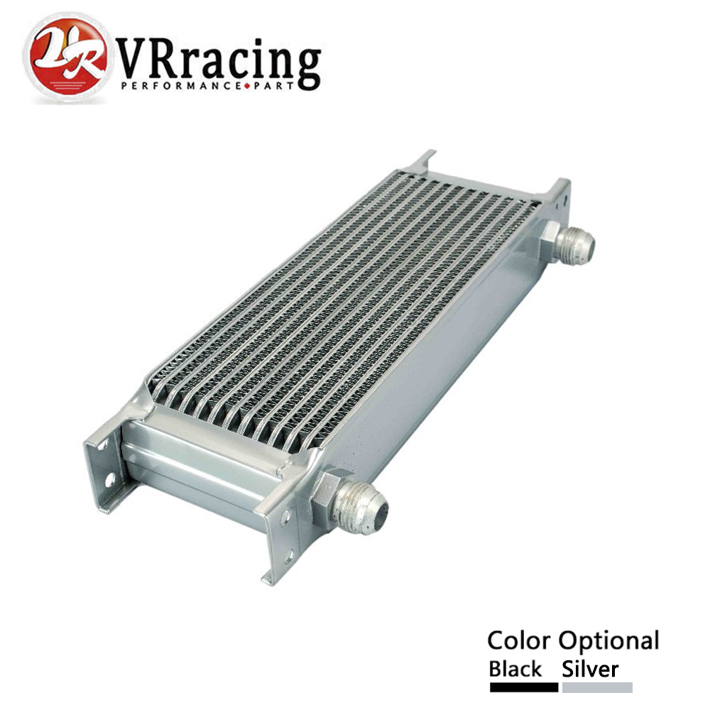 VR RACING - 13 ROW AN-10AN UNIVERSAL ENGINE TRANSMISSION OIL COOLER VR7013 vr racing 16 row an 10an universal engine transmission oil cooler vr7016 2