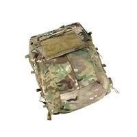 2019 New MC 2.0 plate Tactical Vest Zipper pouch Multicam Imported fabric tactical vest accessories