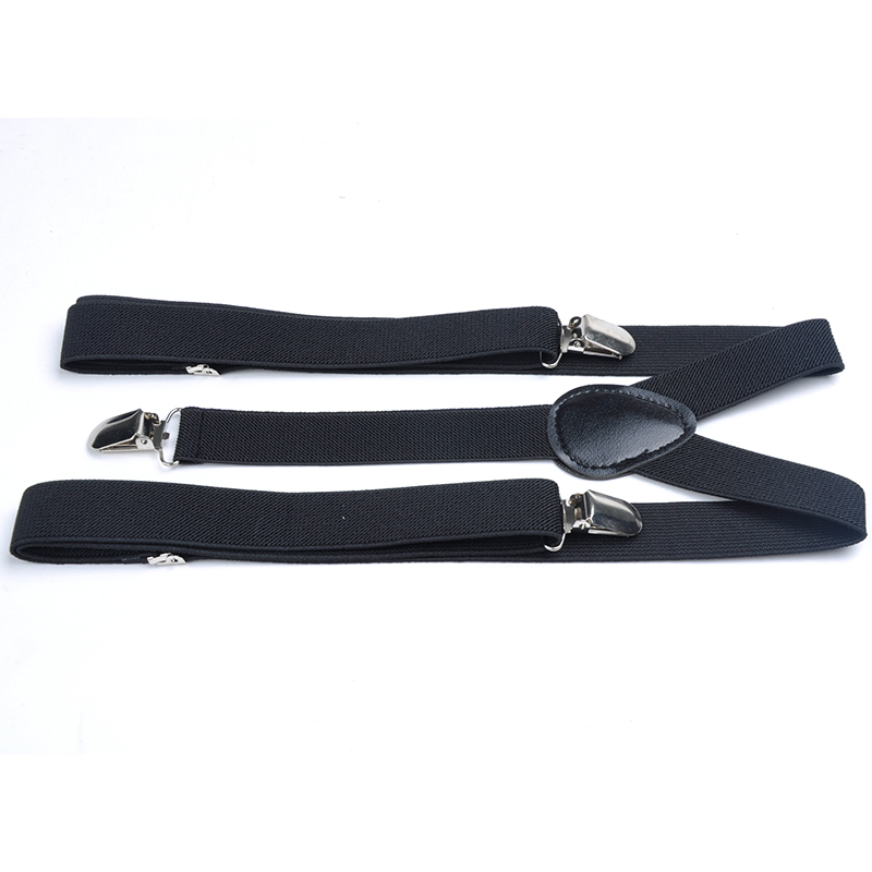 New Colorful 25x100cm Mens Womens Unisex Clip-on Suspenders Elastic Y-Shape Adjustable Braces Solids