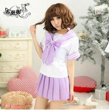 Горячая распродажа сейлор мун аниме косплей костюм япония шул равномерное девушка лолита сейлор костюм фиолетовый / розовый красный / голубой / зеленый