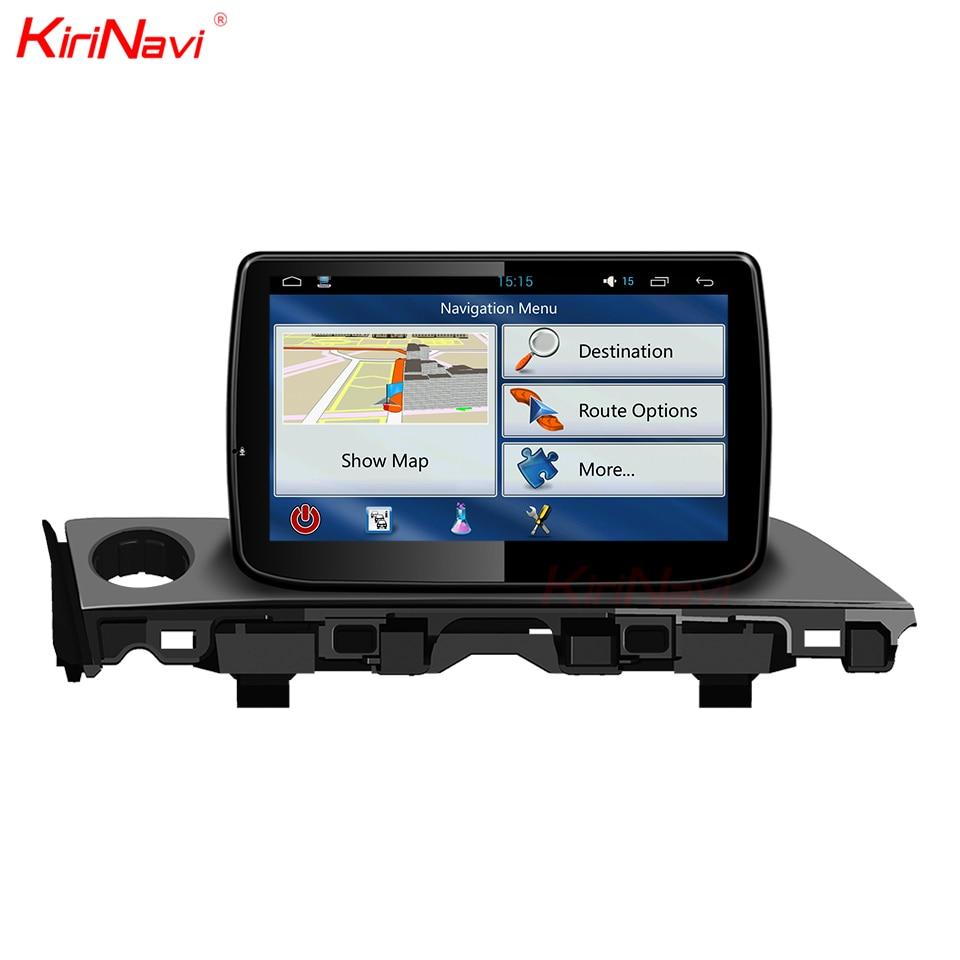KiriNavi Android 7.1 Car Radio For Mazda 6 Atenza Car DVD GPS Car Multimedia System Audio Player Bluetooth WIFI RDS 4G