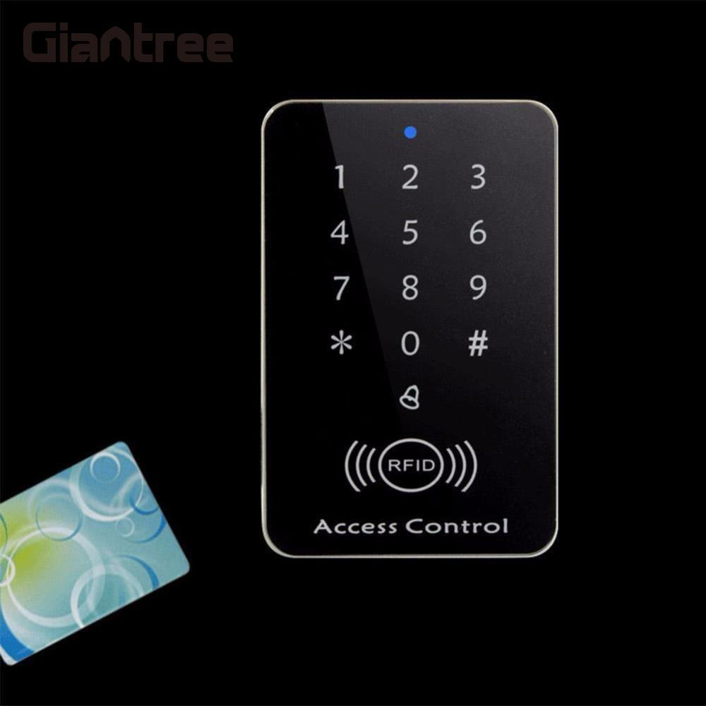 giantree Rfid Lock System 125KHz Door RFID Card Password Access Controller with Keypad Machine Controller Keypad ID Card Reader diysecur metal case touch button 125khz rfid card reader door access controller system password keypad c20