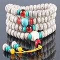 Ubeauty 108 будды лотоса бодхи семян джапа четки браслет Тибетского Буддизма медитации мала четки ожерелье