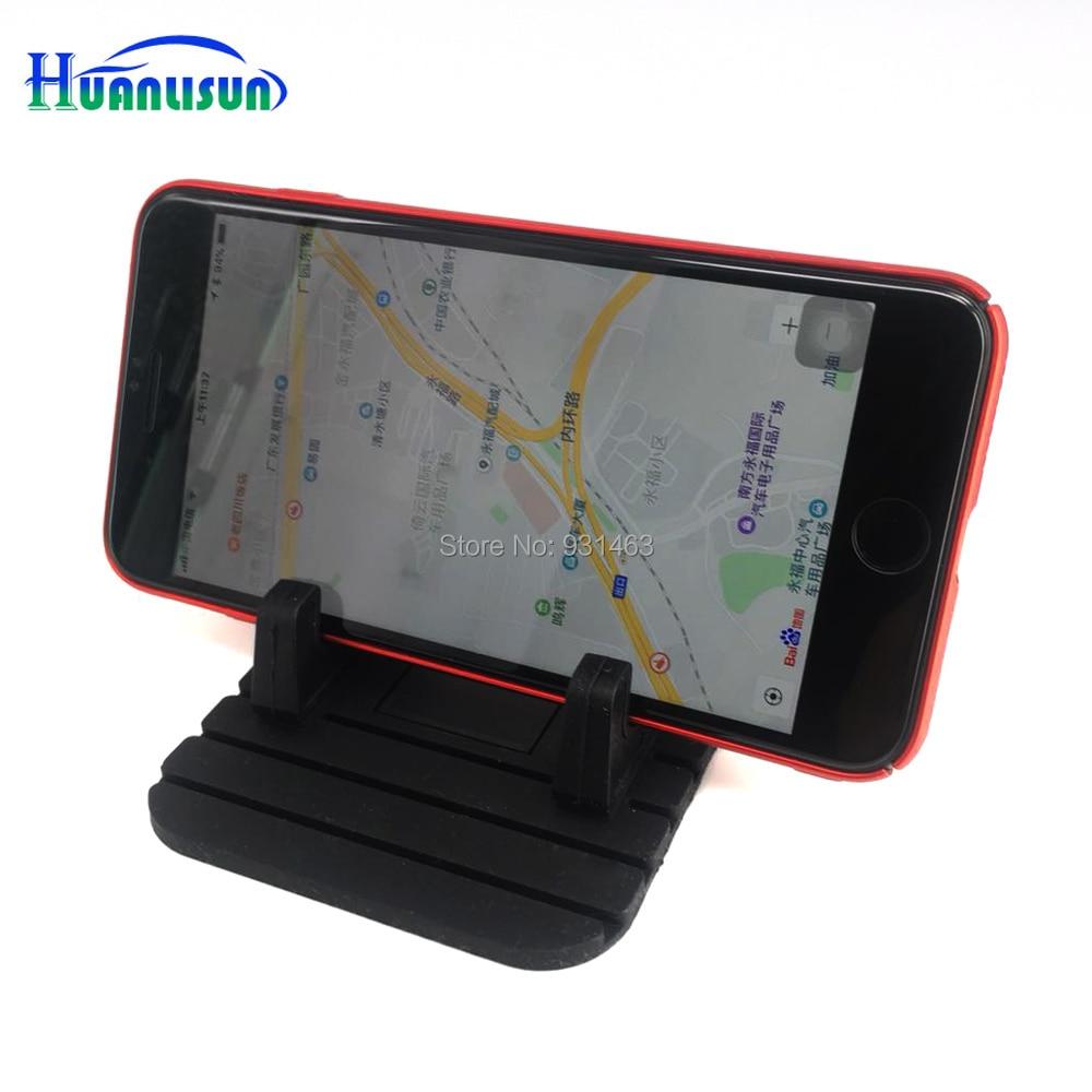 Автомобиль силикагель против скольжения Dashboard Важная супер доставка <font><b>Pad</b></font> Скуэр Нескользящие Коврики держатель для GPS сотовый телефон