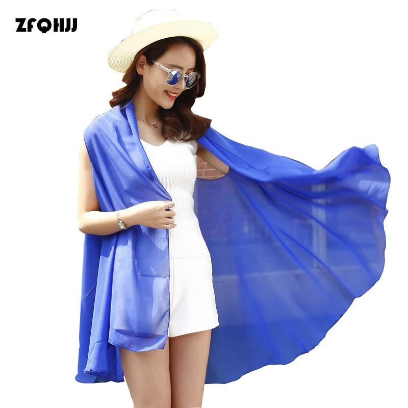 Zfqhjj 2017 blusa de la gasa camiseta de la rebeca sin mangas viajar beach dress