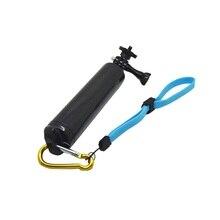 For Motion Equipment Floating Deal with Mount Grip Tripods Monopod for Xiaomi yi  Gopro Hero four three+ SJCAM SJ4000 Sport Digital camera