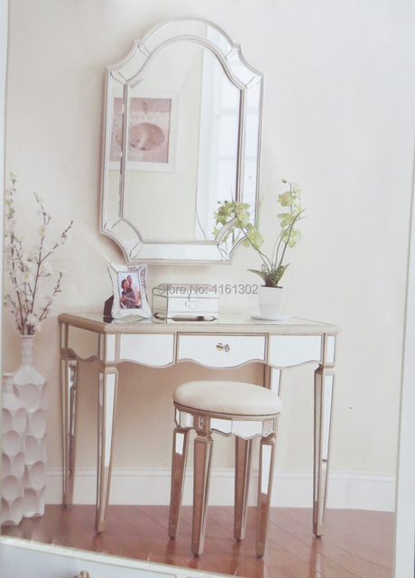 MR 401007 Mirrored Dressing Table