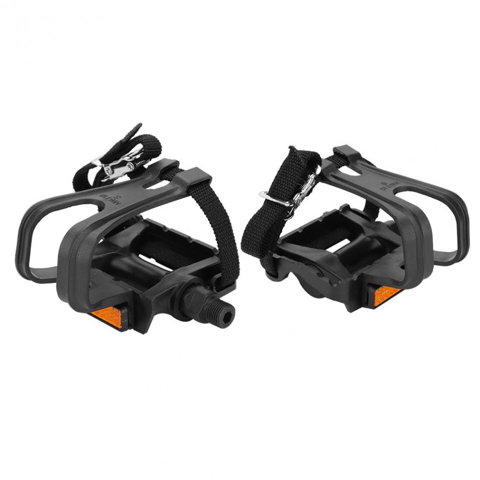 Cycling Pedal Nylon Straps Clip Pedal Toe Straps Bicycle Pedals Accessories